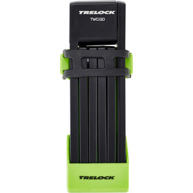 Trelock FS 200/75 TWO.GO Folding Lock 75 cm, green
